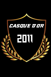 casque d'or 2011 Molosses Football
